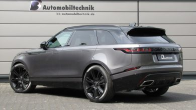 Photo of Range Rover Velar – B&B gepusht