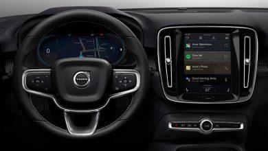 Photo of Vollelektrischer Volvo XC40 mit Android Infotainment-System und integrierten Google Funktionen