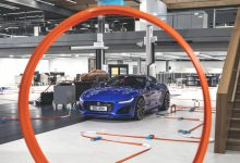Photo of NEUER JAGUAR F-TYPE FLITZT ZUR WELTPREMIERE DURCH DAS JAGUAR DESIGN CENTER ALS HOT WHEELS®-MODELLRACER IM MASSSTAB 1:6